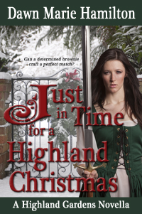 Cover for Just in Time for a Highland Christmas