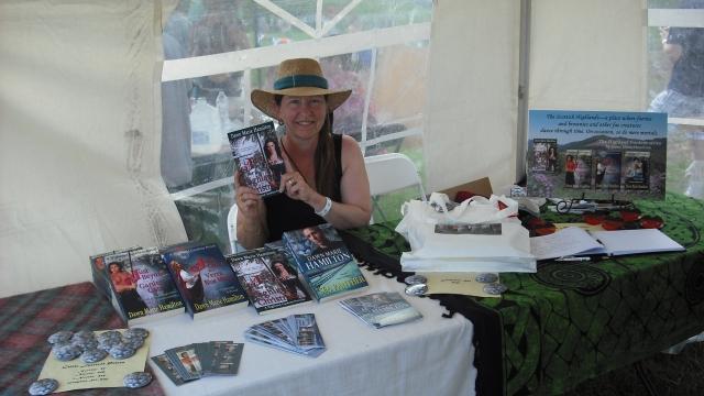 Celtic Author Tent