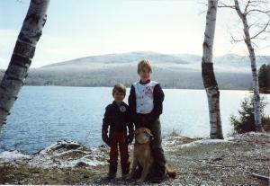 My little boys, years ago