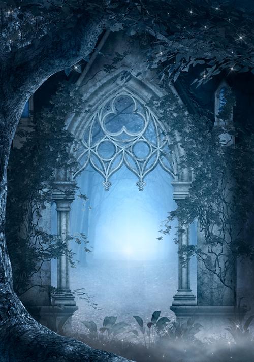 Blue passage