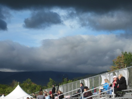 NH Highland Games sky